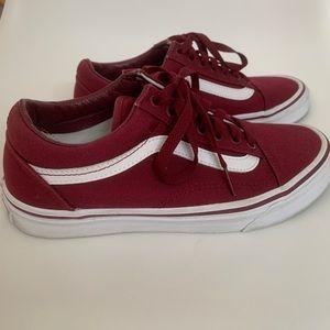 Vans Old Skool Sneakers - Maroon